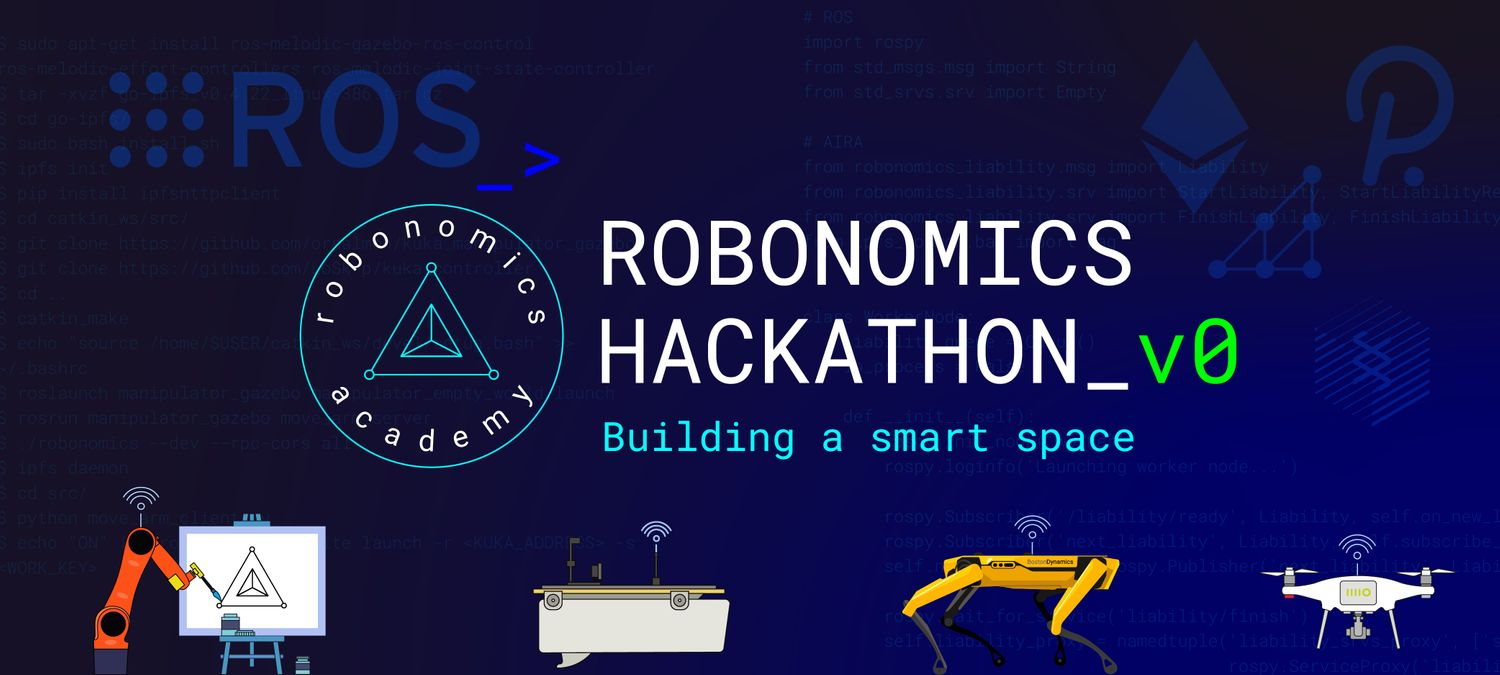 Robonomics Hackathon v0: building a smart place