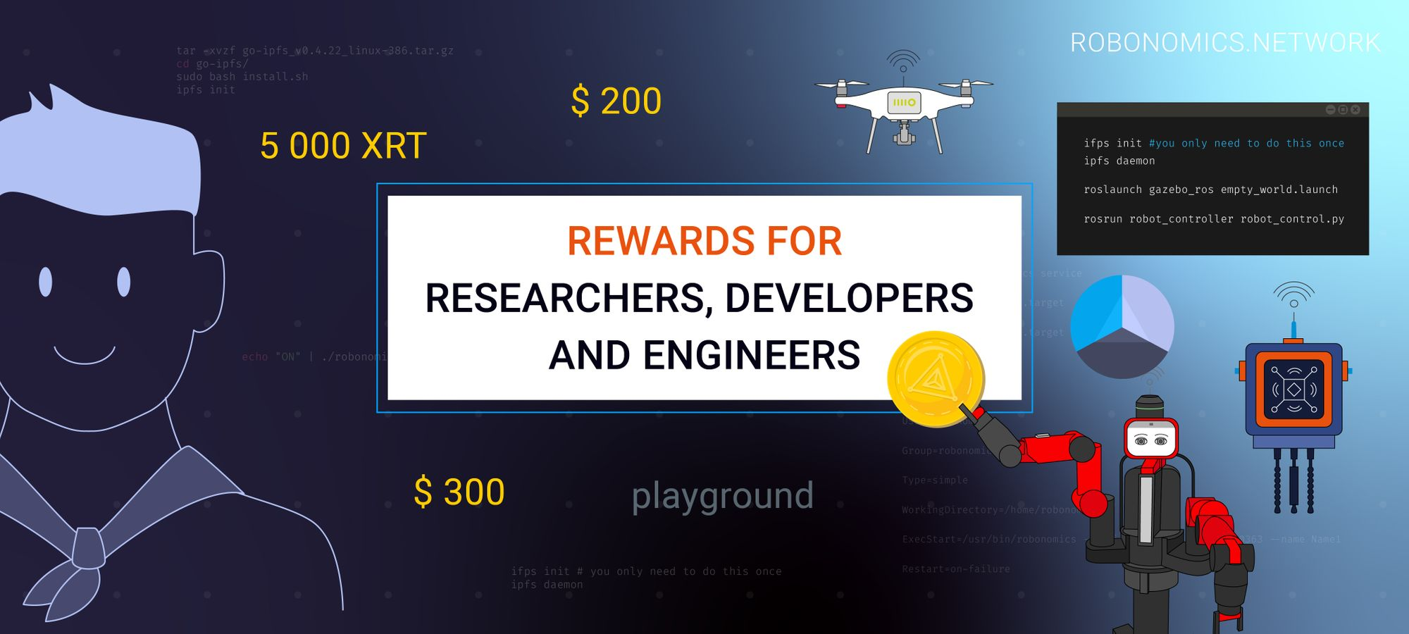 Rewards for researchers, developers and engineers