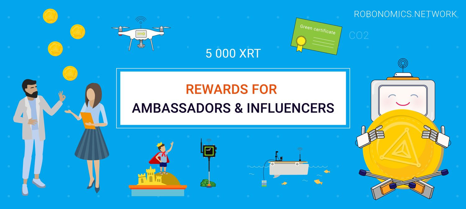 Rewards for Ambassadors & Influencers