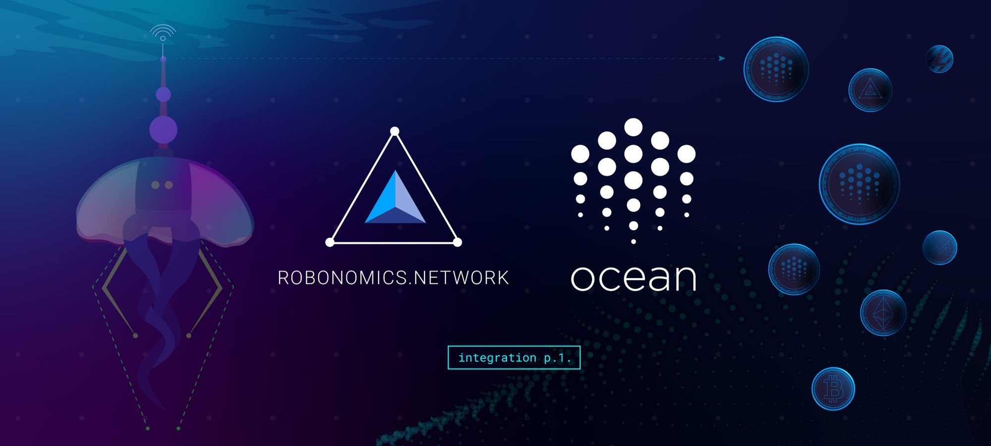 Robonomics Network x Ocean Protocol Collaboration p.1